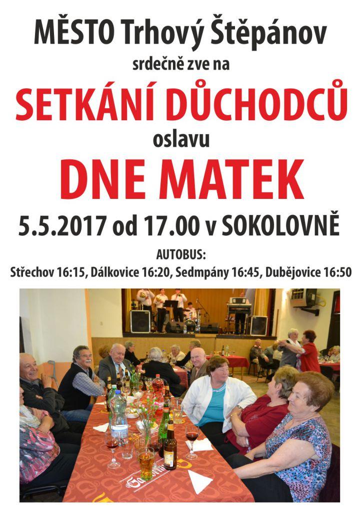 Setkání důchodců a oslava Dne Matek