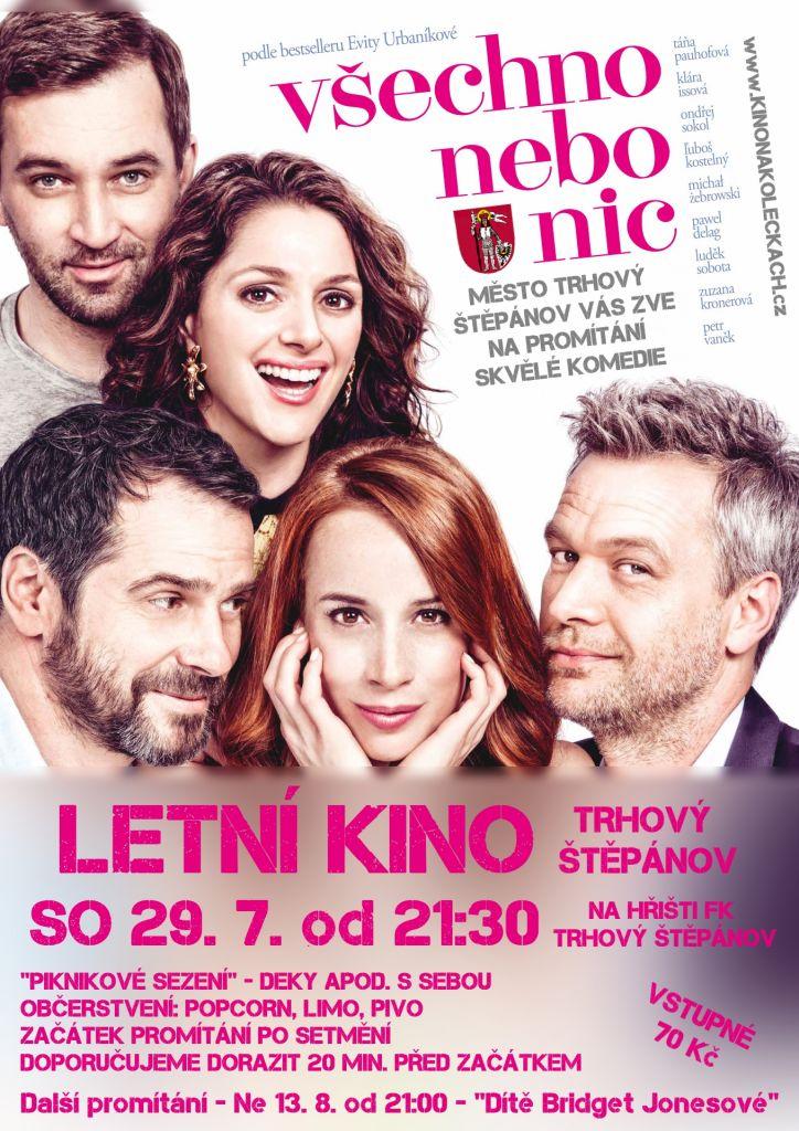 Promítání české komedie