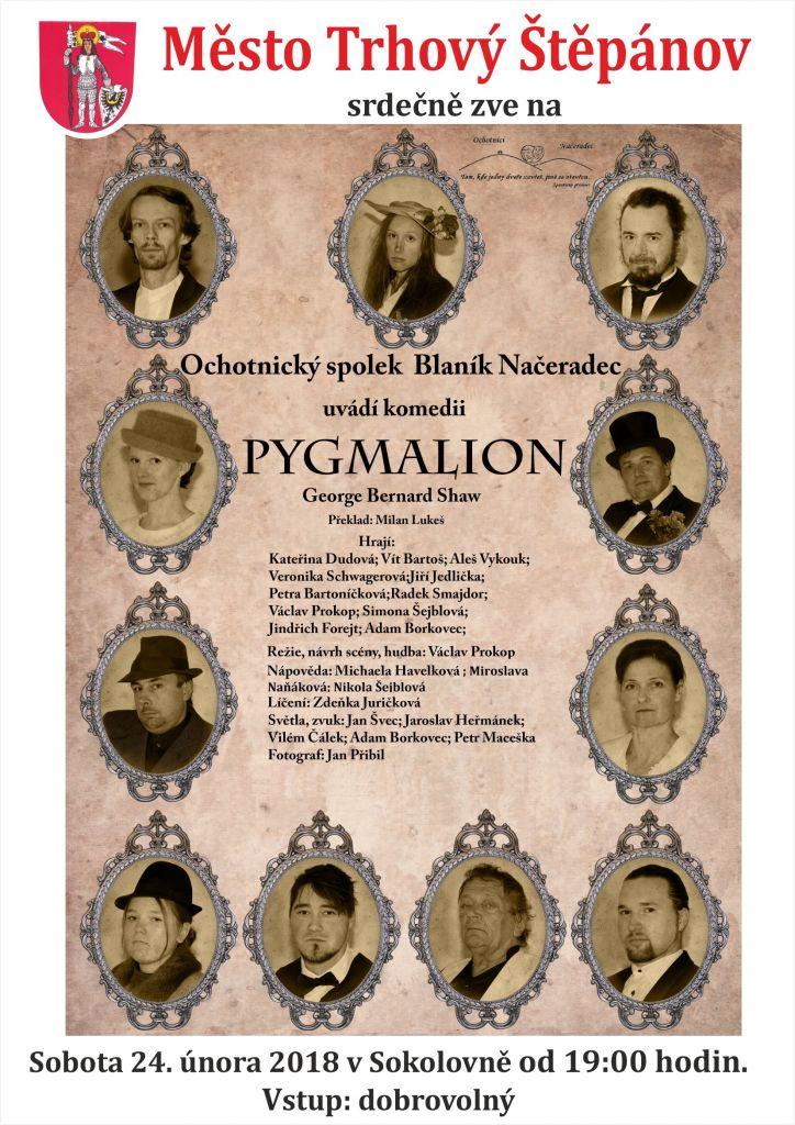 Divadelní představení PYGMALION