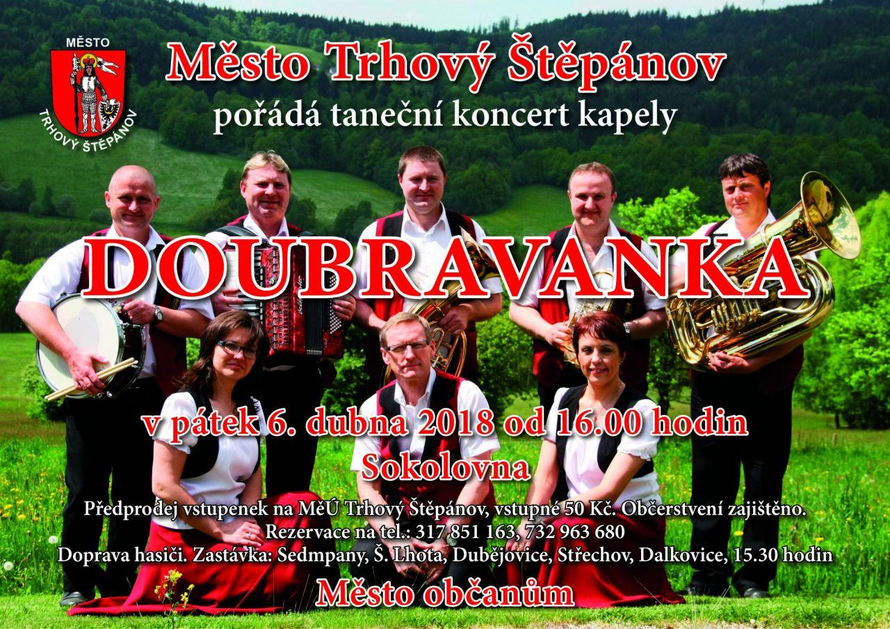 Taneční koncert kapely DOUBRAVANKA