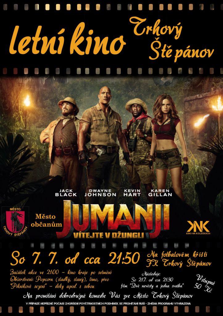 Vítejte v džungli - JUMANJI - letní kino