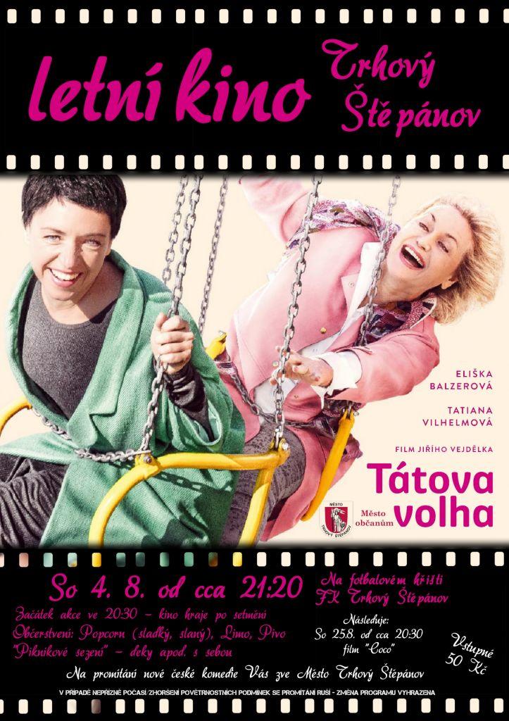 4.8.2018 promítání letního kina v Trhovém Štěpánově